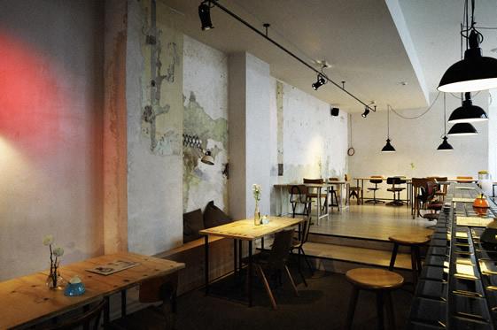 michelberger hotel cafe bar rummage ist berlin. Black Bedroom Furniture Sets. Home Design Ideas